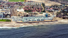 Aerial View Of The Town Of Swa...