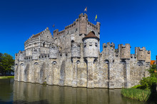 The Castle Of The Counts Of Flanders