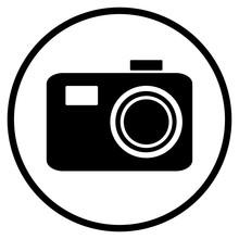 Foto Icon Im Kreis