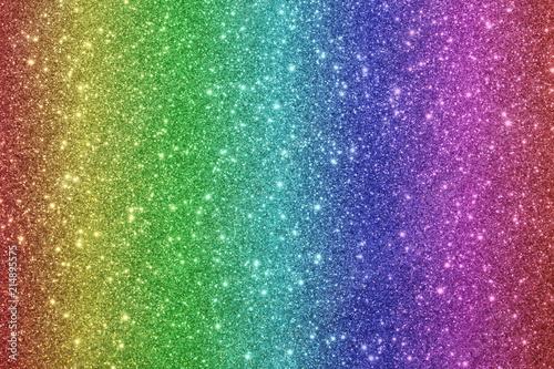 Obraz красивый блестящий разноцветный фон из блесток и боке           - fototapety do salonu