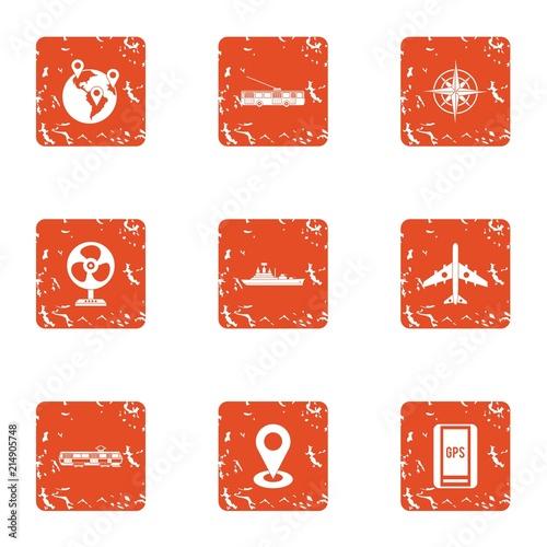 Fotografía  Item icons set