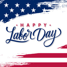 USA Labor Day Greeting Card Wi...