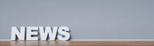 News Header Hintergrund Konzept