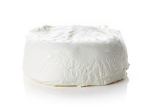 Goat Cheese Isolated On White