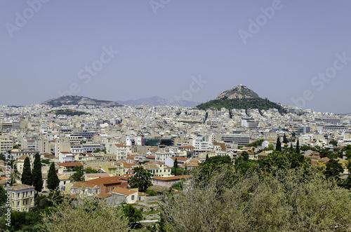 Fotobehang Athene Panorama of Athens