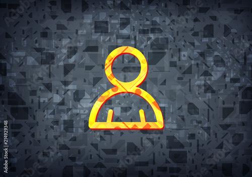 Fotografía  Member icon black background
