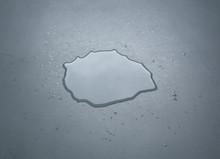 Liquid Or Water Drops Splash O...
