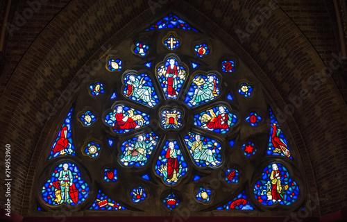 Fotografie, Obraz  Stained glass windows
