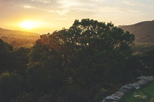 Sunset Looking To Llyn Padarn ...
