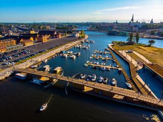 Szczecińska przystań jachtowa
