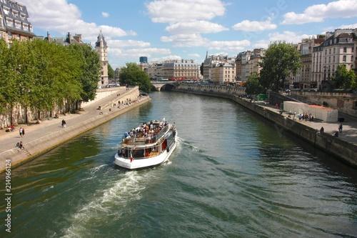 Fotografie, Obraz  Passeio fluvial