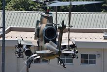 陸上自衛隊の攻撃ヘリ...