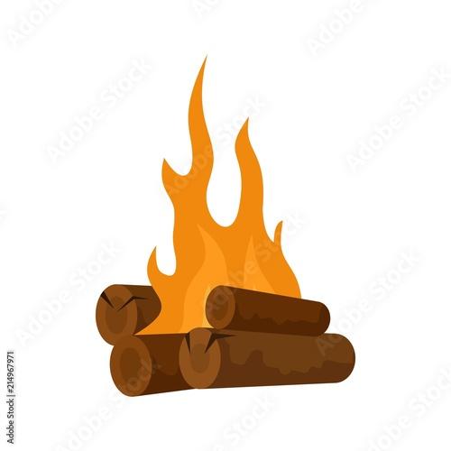 Fényképezés  Long camp fire icon