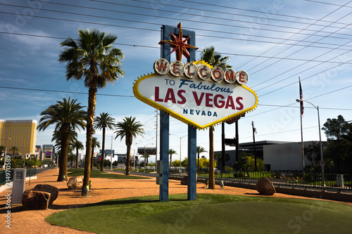 Poster Las Vegas Welcome Sign Las Vegas