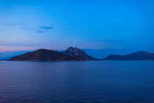 View Of The Greek Island Of At...