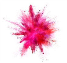 Coloured Powder Explosion Isol...