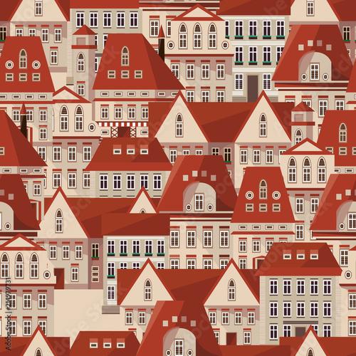 wektor-czerwony-dachy-wzor-panorama-nowoczesnych-kamienic-wektorowego-miasta-praga-republika-czech-bezszwowy-tlo-dla-twoj-pro