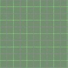 Pastel Green Background Continuous Square Pattern