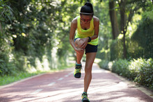 Female Runner Suffering With P...