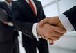 business background.business handshake business partners