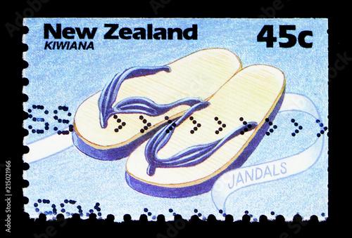 Fotografia  Sandals, Kiwiana serie, circa 1994