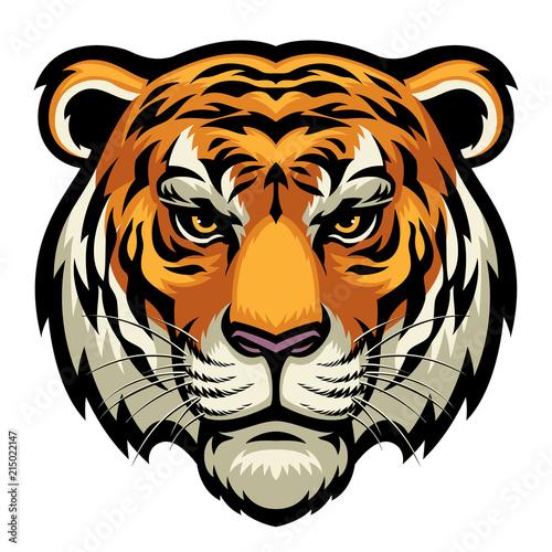 Cuadros en Lienzo tiger head