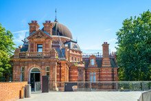 Royal Observatory Greenwich In London, England, Uk