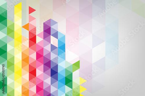 Fototapety geometryczne w-geometrycznym-natchnieniu-trojkatow