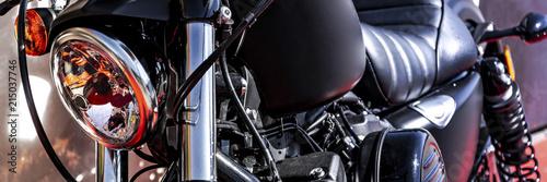 Fotografia, Obraz  custom motorbike front