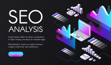 SEO Analysis Vector Illustrati...
