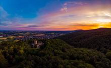 Alsbacher Schloss Morgengrauen