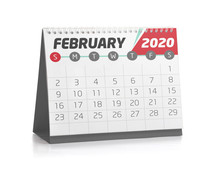 Office Calendar February 2020
