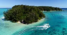 Jet Ski  In A Dream Lagoon In ...