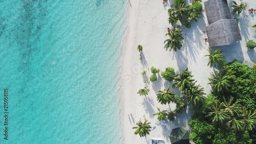 Fotografía  Amazing bird eyes view in Maldives