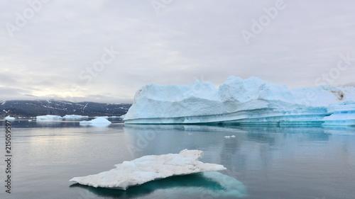 Deurstickers Poolcirkel Iceberg