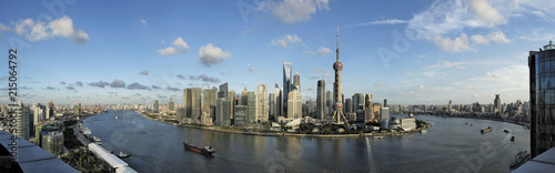 Skyline of Shanghai, China, Asia