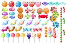 Candies Set. Big Collection Of...