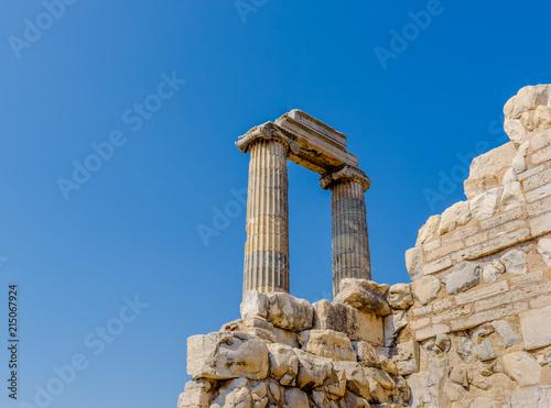 Fotobehang Bedehuis Apollo Temple at Didyma in Didim,Aydin,Turkey.