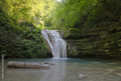 Foto op Plexiglas Watervallen The Erfelek Waterfalls at Turkey Sinop