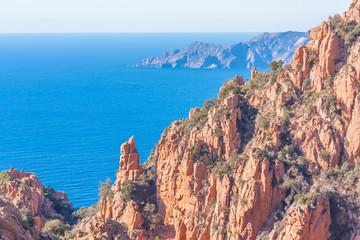 les calanques de Piana, Corse