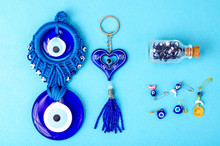 Blue Traditional Amulet From The Evil Eye