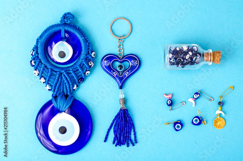 Photo Blue traditional amulet from the evil eye