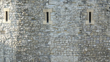 Close Up Of A Medieval Castle...