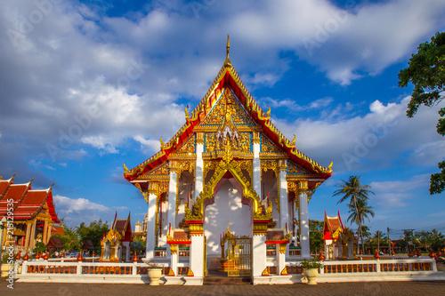 Fotografia  Thailand. Buddhism. Travel to Thailand. The island of Phuket.