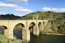 The Roman Bridge Of Alcantara ...