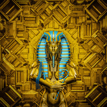 The Sacred Queen / 3D Illustra...
