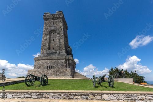 Obraz na plátně Summer view of Monument to Liberty Shipka, Stara Zagora Region, Bulgaria