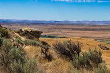 Eastern Washington Palouse Vast Expanse Desert View With Hills