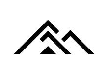 Black House Logo Template, Vector Illustration