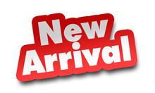 New Arrival Concept 3d Illustr...